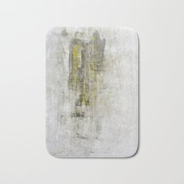 """""""1201 abstract two angels"""" Bath Mat"""