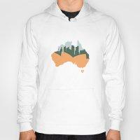 australia Hoodies featuring Sydney - Australia by ahutchabove