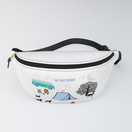 Go Outside | Camping Fanny Pack