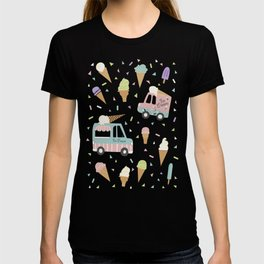 Ice Cream Trucks and Treats T-shirt