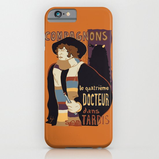 Le Fourth Doctor iPhone & iPod Case