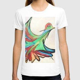 Aquarela bird T-shirt