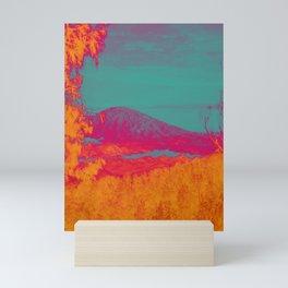 Acid & Energy Landscape Mini Art Print