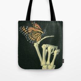 Butterfly & Bones Tote Bag