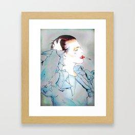 BOWIE 01 Framed Art Print