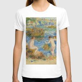 """Auguste Renoir """"Garçons nus dans les rochers à Guernsey"""" T-shirt"""