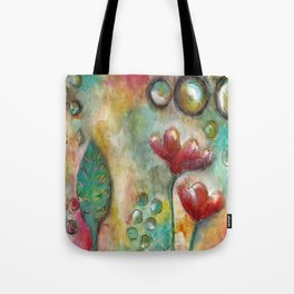 Mixed Media Collage 3 Tote Bag