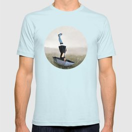 Umbrella melancholy T-shirt