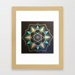 Kateri -Mandala Framed Art Print