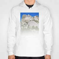rushmore Hoodies featuring Mount Rushmore by astultz23