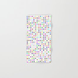 Big Hirst Polka Dot Hand & Bath Towel
