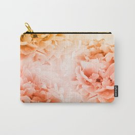 Yellow Orange Peonies Dream #1 #floral #decor #art #society6 Carry-All Pouch