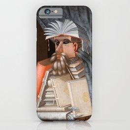 Giuseppe Arcimboldo - The Librarian iPhone Case