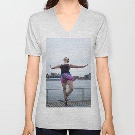 Waterfront Ballet Breeze Unisex V-Neck