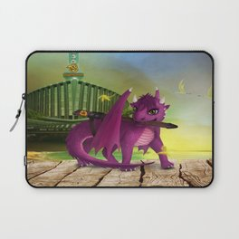 Dragonlings of Valdier: Jade Laptop Sleeve