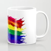 equality Mugs featuring Equality by Lyndi May