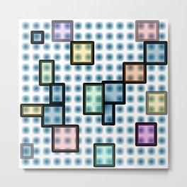 zappwaits glass Metal Print