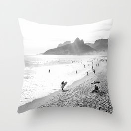 Ipanema Throw Pillow