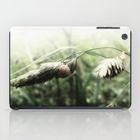 grass iPad Cases featuring grass by emegi