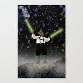 YODA-ling with FORCE - 027 Canvas Print
