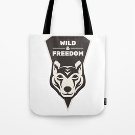 Wild & Freedom Tote Bag