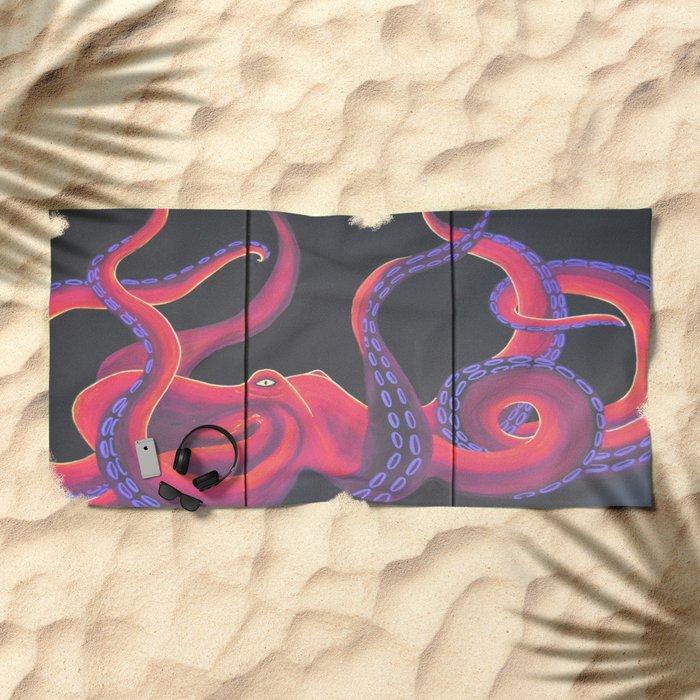 Kustom Kraken Beach Towel