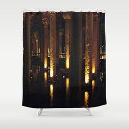 Light Underground!  Shower Curtain