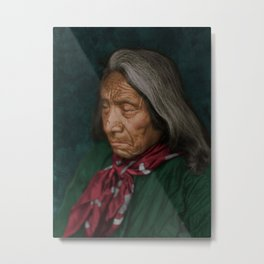 Red Cloud - Oglala American Indian Metal Print