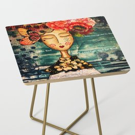 Coco's Closet - Courage and Kind Side Table