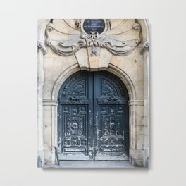 Grand Opening - Paris Architecture, Travel Photography Metal Print