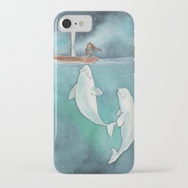 She's on a journey to find herself iPhone Case