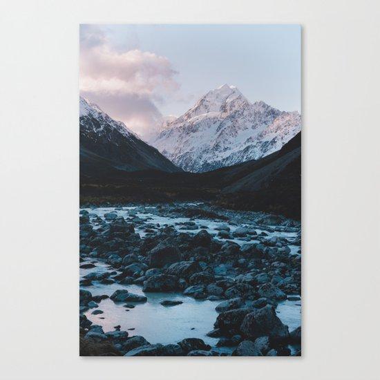 Hooker Valley, Mt Cook Canvas Print
