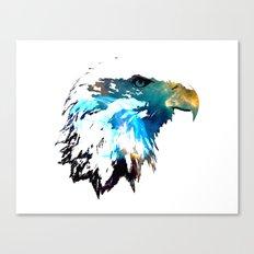 Space Bald Eagle Canvas Print