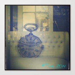 #Time Canvas Print