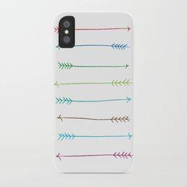 Colour Arrows iPhone Case