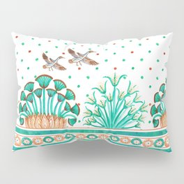 Lotus and Papyrus Pillow Sham