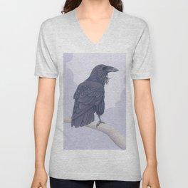 Common Raven Unisex V-Neck