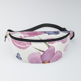 Flowers and butterflies Fanny Pack