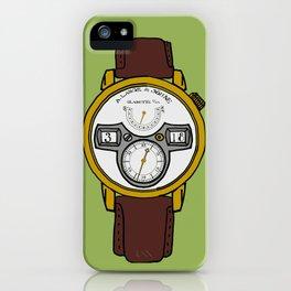 A. Lange iPhone Case