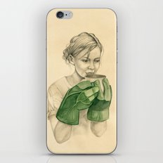 bun-fight iPhone & iPod Skin