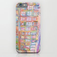 Wandering Amsterdam - Colored Pencil iPhone 6s Slim Case
