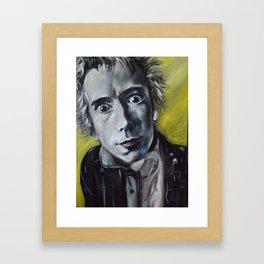 Jonny Rotten Framed Art Print