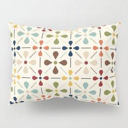 Vintage Daisy Pattern, Mid Century Modern Pillow Sham
