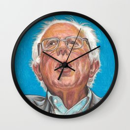 Senator Bernie Sanders Candidate for the Democratic nomination for President of the United States Wall Clock