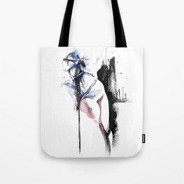 Shibari - Japanese BDSM Art Painting #4 Tote Bag