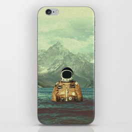 Glacier Spaceman iPhone Skin