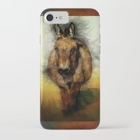 donkey iPhone & iPod Cases featuring Donkey by Ginkelmier