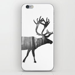 Moose Silhouette | Forest Photography iPhone Skin