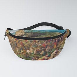 The Procession to Calvary by Pieter Bruegel the Elder (1564) Fanny Pack