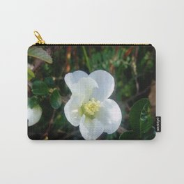 flower and light - White flower 2 Carry-All Pouch